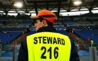 lavoro Steward partite di calcio
