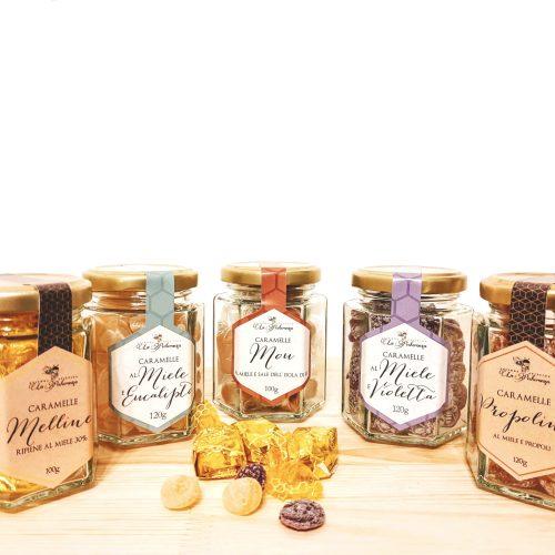 Caramelle al miele