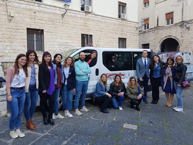 nuovo servizio di educatori di strada