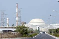 Nucleaire reactor in Buhsehr, Iran ©AP