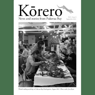 Kōrero Newsletter Vol 1 Issue 4, September 2021