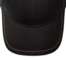Pukka hat, visor stitching, 8 rows, 1 contrast stitch, 1 color