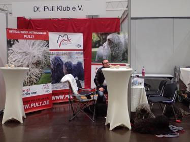 World dog show Leipzig 2018 Stallwache