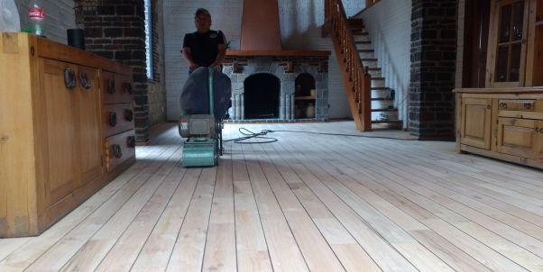 pulido de pisos de madera en la narvarte