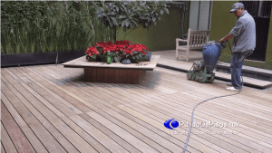 pulido de piso de madera