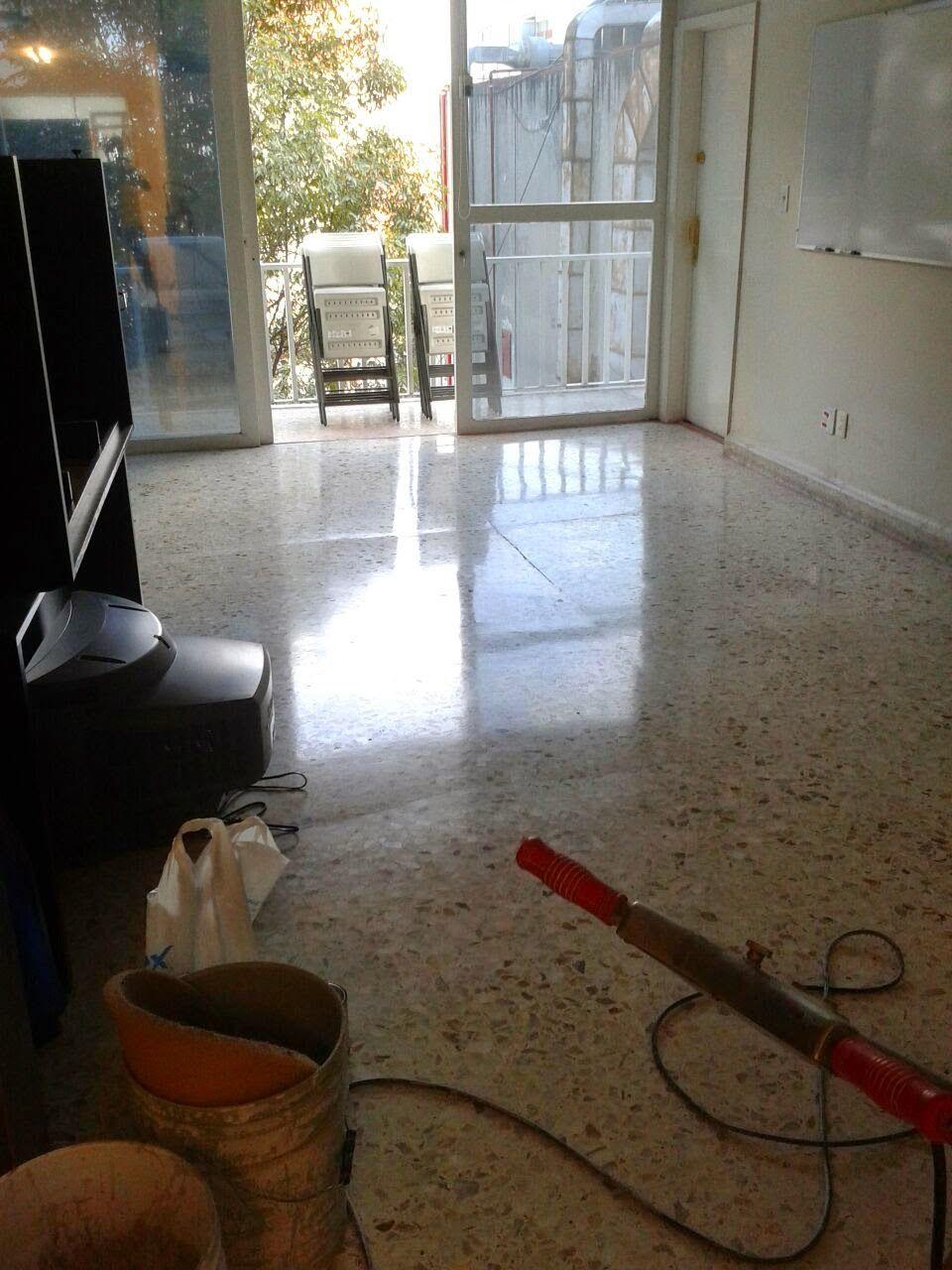 Pulido de piso granito o terrazo pulido de pisos acme for Pulido de marmol y granito