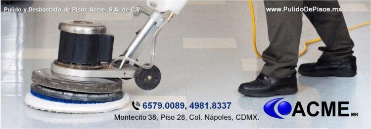 pulido de pisos en Ciudad de México