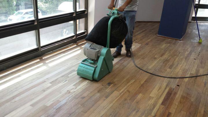mantenimiento de piso de madera