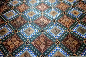 pisos de mosaico