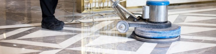pulido de pisos con máquina pulidora en México