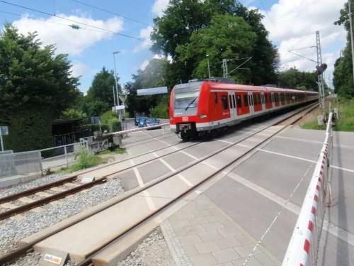 S-Bahn-Übergang Münchener Straße