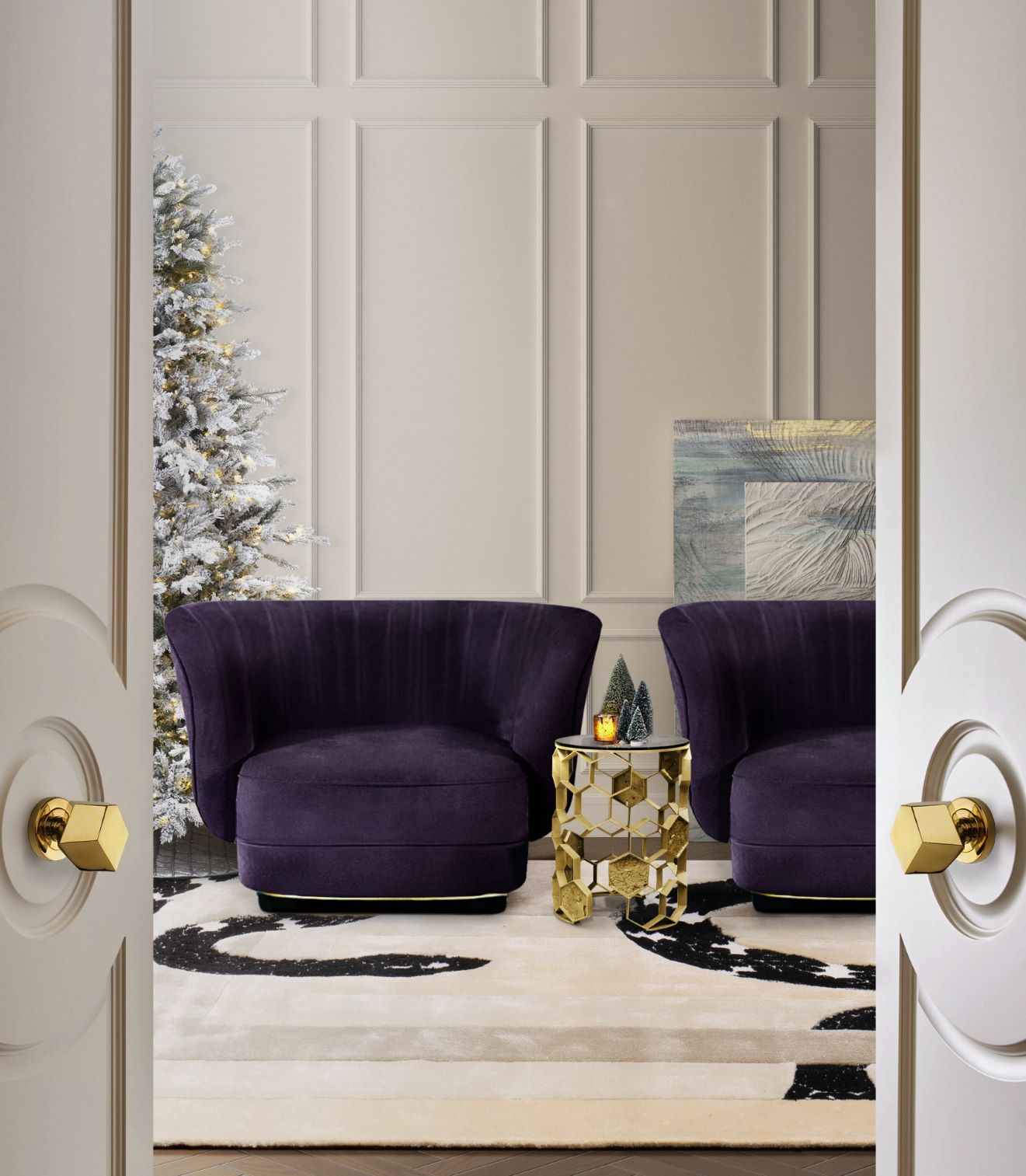 Luxury Christmas Decorations For A Magical Ambience Pullcast