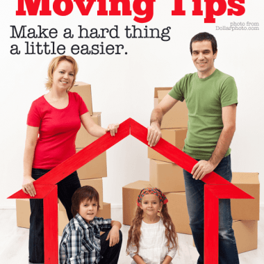 These family moving tips are ideas that will help your kids move with grace, and with you modeling good behavior to help them adjust. It's hard, but an open mind helps!