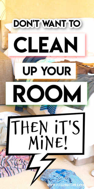 Wondering how to get older kids to clean up their room? This handy tip is an awesome start! via @pullingcurls