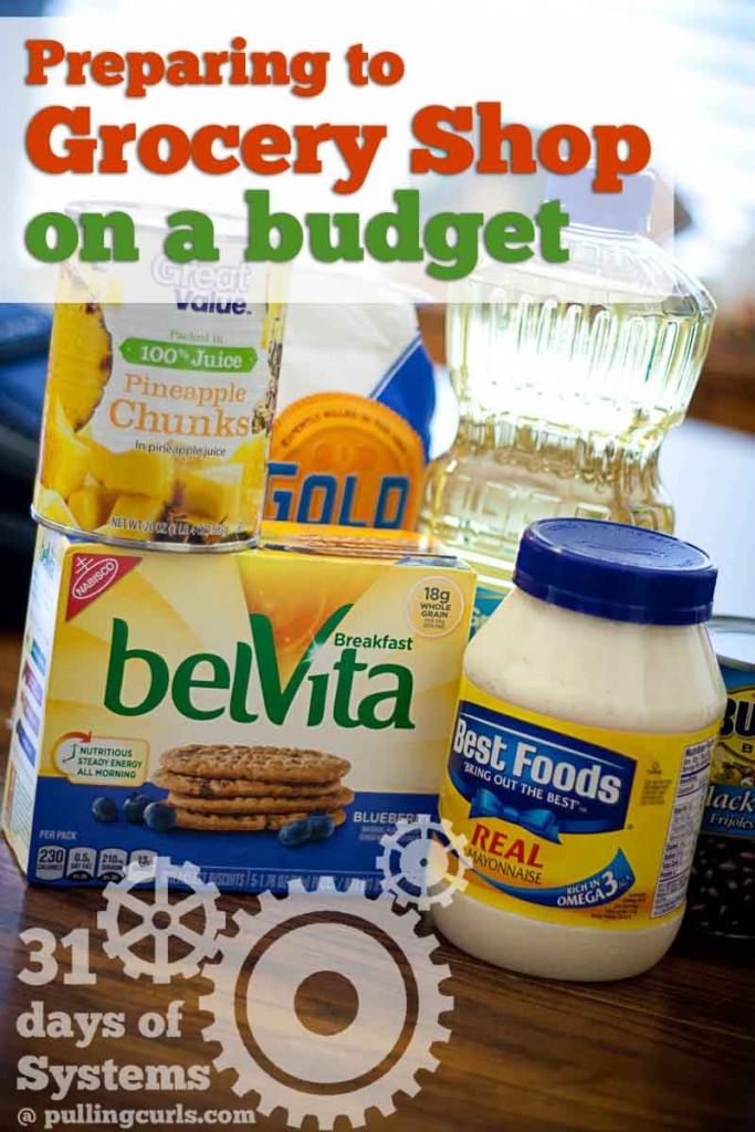 When shopping on a budget, preparing a grocery list is almost as important as what you buy!