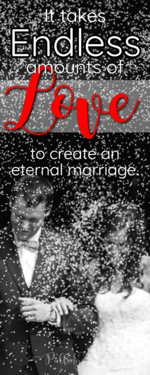 What does it take to create a strong marriage?