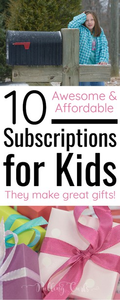 Best kids subscription boxes / kids / teens / tweens / by mail / science / stickers / crafts / STEM / STEAM via @pullingcurls