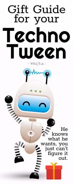 Techno tween gift guide / boys / engineering / computers / science / stem / steam via @pullingcurls