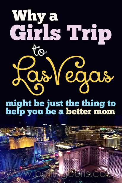A Vegas girls trip is easier to plan because there is SO much to do in a small area. Go live it up!
