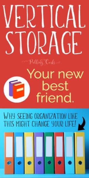 organizing vertically