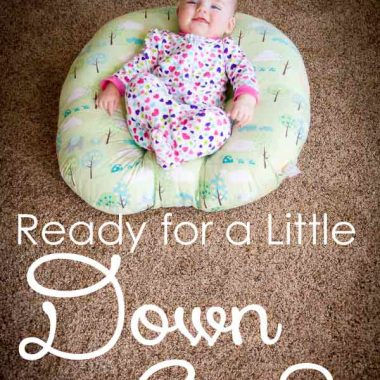 Ready for a little downtime from your baby? Check out this new Boppy Lounger that lets them explore the world on their own with a new viewpoint!