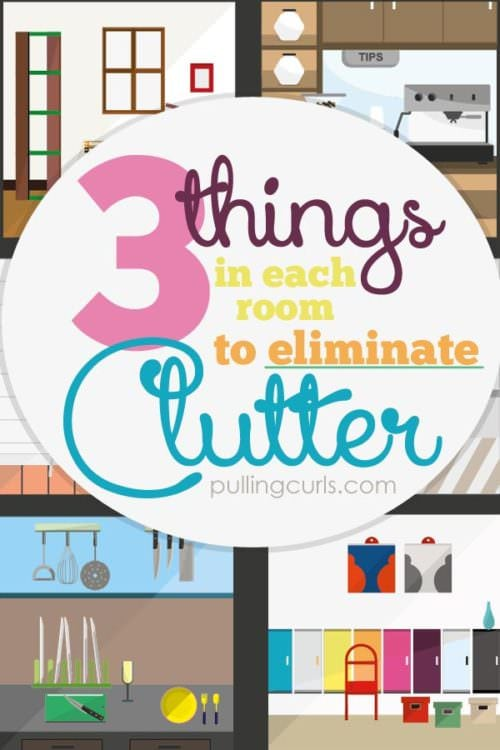 Clutter | tips | get rid of | organization | solution | free | organizing | bedroom |