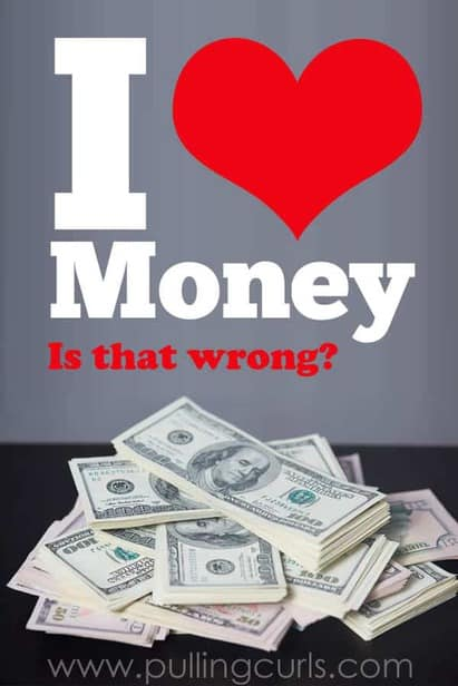I love money. Say it. Does it make you feel weird? Do you feel like you shouldn't. Come find out how that's affecting you!