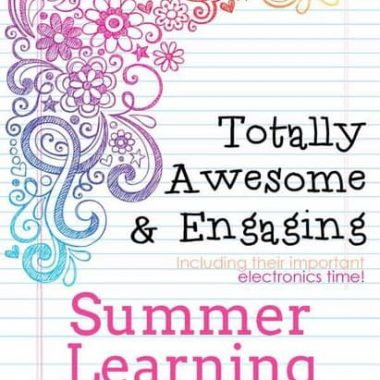 Summer learning is great when you just have small kids. If you're hoping for a summer NOT filled with electronics, see what I'm doing to create a balance.