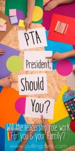Should you or shouldn't you? This PTA story leads you through the triumphs and failures of my year as PTO president. Come find out if it's for you.