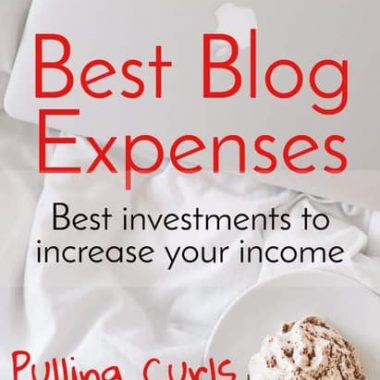 The cost of a website can be really low compared to your income, as long as you are thoughtful about where you spend it.