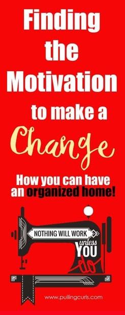 motivation to clean | overwhelmed | declutter | organize | house via @pullingcurls