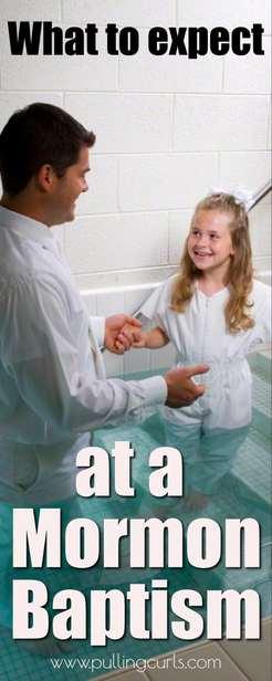 mormon baptisms | LDS baptisms via @pullingcurls