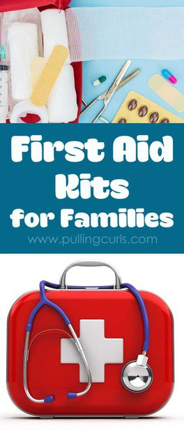 First aid supplies are general things most families keep on hand for emergencies. Great advice from an RN of 20 years. via @pullingcurls