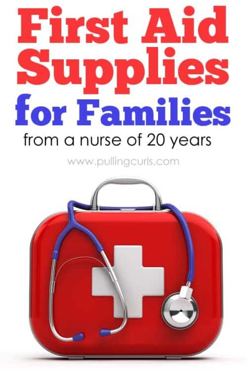 first aid kit supplies/ checklist / families / where to buy / summer