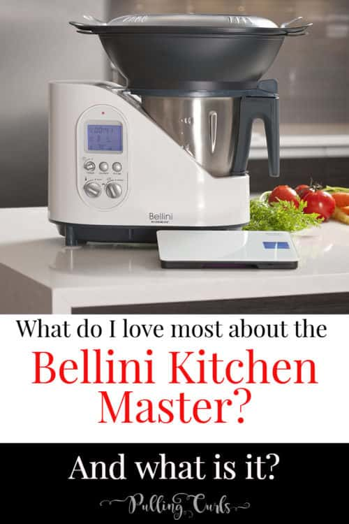 ever wish you didn't have to stand over your stove? The Bellini ktichen master will save you time and energy! It blends, chops, steams, cooks, and changes diapers. Almost. ;)