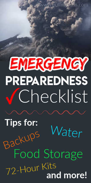 How can I best be prepared for a disaster or an emergency? via @pullingcurls
