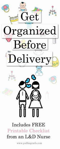 Getting Organized before delivery will put your nesting heart at ease. Find out the TOP things to organize before your baby comes! Recipes / children /organization / tips / ideas / free printable via @pullingcurls