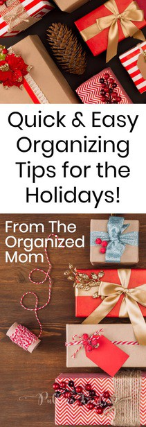 Christmas organization / holidays / wrapping / gifts / free printable via @pullingcurls