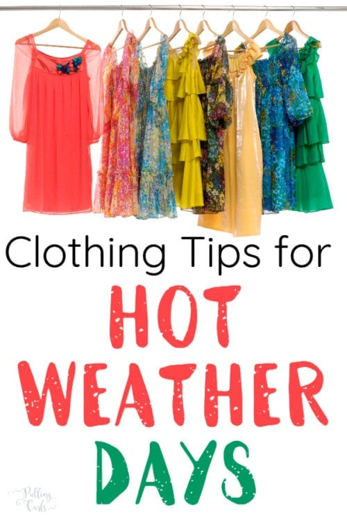 women's clothes for hot weather