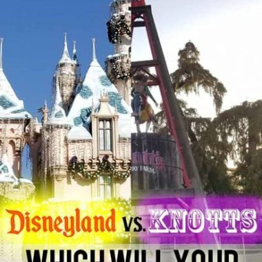 Which is better, Knotts Berry or Disneyland?