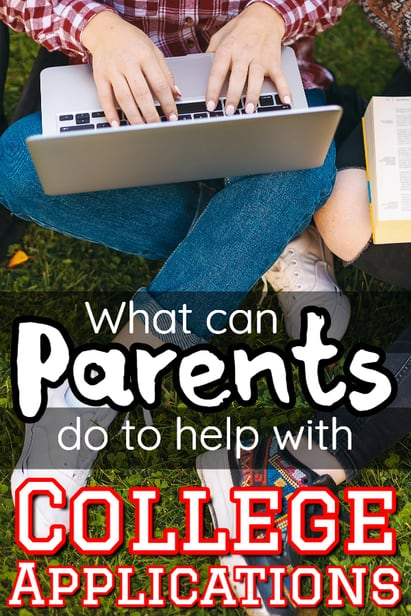 What can YOU do to help your kids with college applications?  It seems like timing is everything. via @pullingcurls
