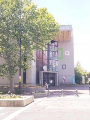 LDS family history center in Salt Lake City, UT