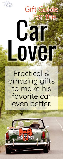 These unique and helpful gifts for car lovers will give you some accessories for your boyfriend, your car guy or just a car warming gift they'll totally love! via @pullingcurls