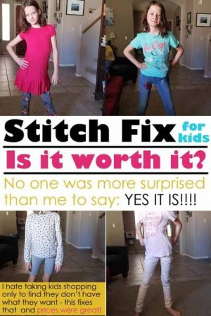 stitch fix for 9 year old girls