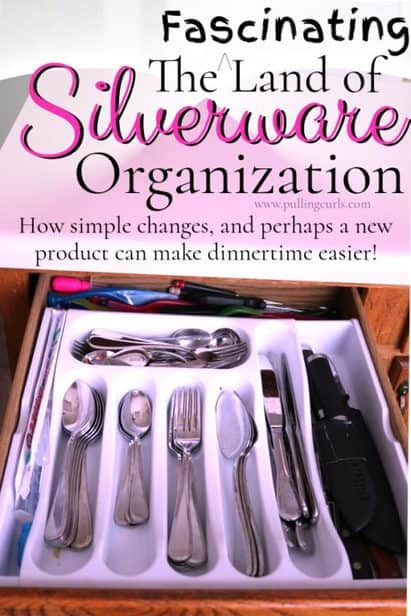 organize your silverware