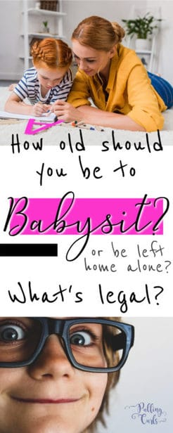 how old should a child be to babysit?