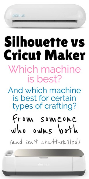 The Circut Maker and Silhouette can see very similar at first glance, but which cutting machine reigns supreme in 2019? via @pullingcurls
