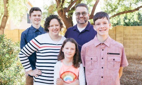 Hilary Erickson Family