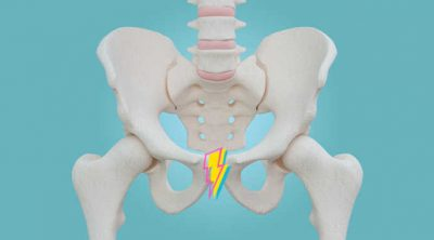 Pelvis with Lightening bolt