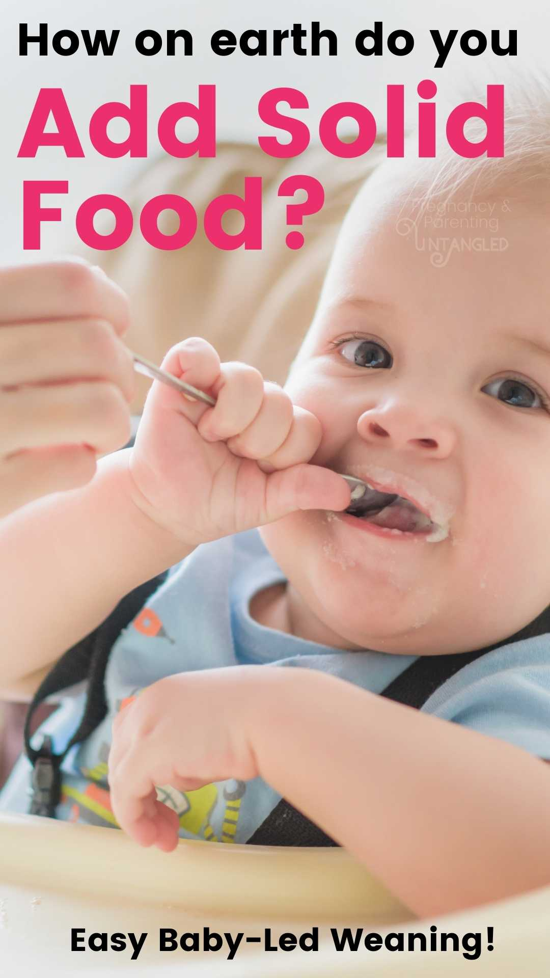How do you add other foods to baby while still breastfeeding for baby as well. Let's talk about how to do that safely with Samantha Radford. via @pullingcurls